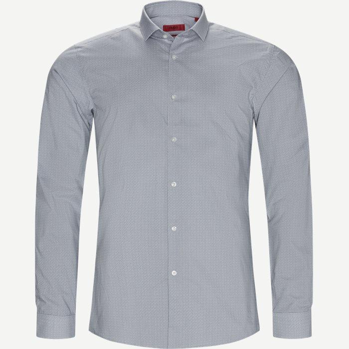 Hemden - Ekstra slim fit - Grau