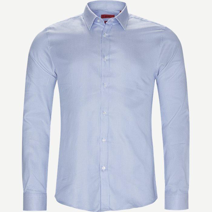 Elisha01 Skjorte - Skjorter - Ekstra slim fit - Blå