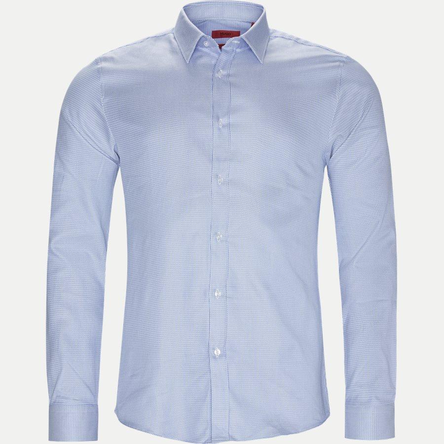 50404304 ELISHA - Elisha01 Skjorte - Skjorter - Ekstra slim fit - LYSBLÅ - 1