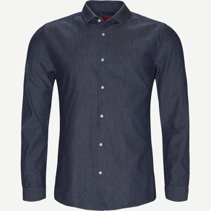 Skjortor - Ekstra slim fit - Denim