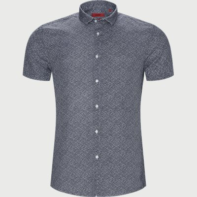 Ekstra slim fit | Short-sleeved shirts | Blue