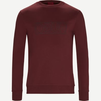 Dicago-U6 Sweatshirt Regular | Dicago-U6 Sweatshirt | Bordeaux
