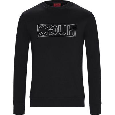 Dicago-U6 Sweatshirt Regular | Dicago-U6 Sweatshirt | Sort