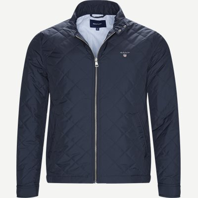 The Quilted Windcheater Regular | The Quilted Windcheater | Blå