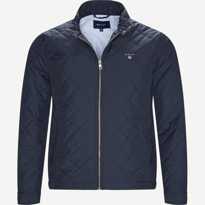 The Quilted Windcheater - Jakker - Regular - Blå