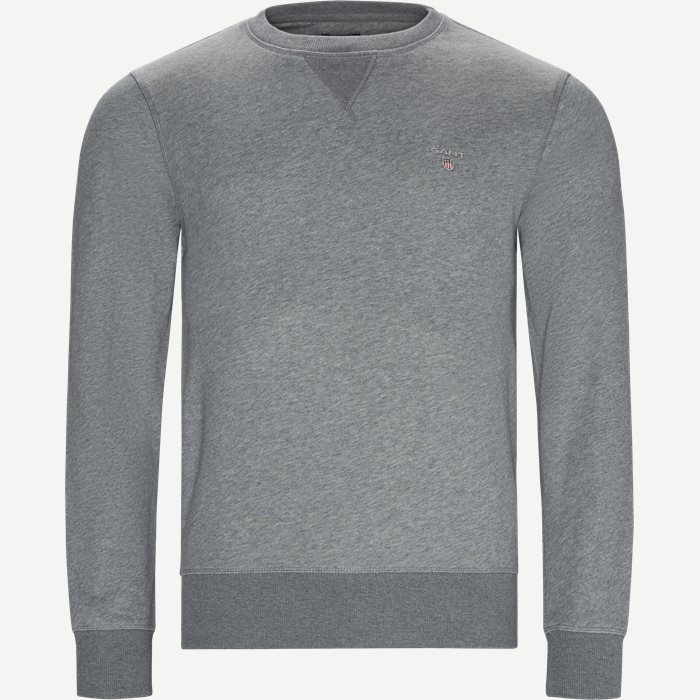 Original Crew Neck Sweatshirt - Sweatshirts - Regular - Grå