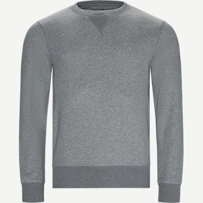 Original Crew Neck Sweatshirt Regular | Original Crew Neck Sweatshirt | Grå