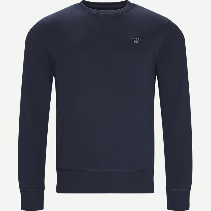 Original Crew Neck Sweatshirt - Sweatshirts - Regular - Blå