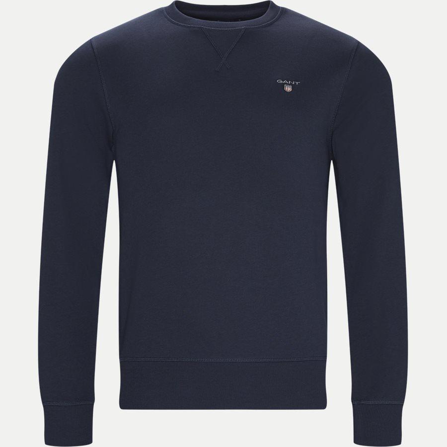 2046010 THE ORIGINAL C-NECK - Original Crew Neck Sweatshirt - Sweatshirts - Regular - NAVY - 1