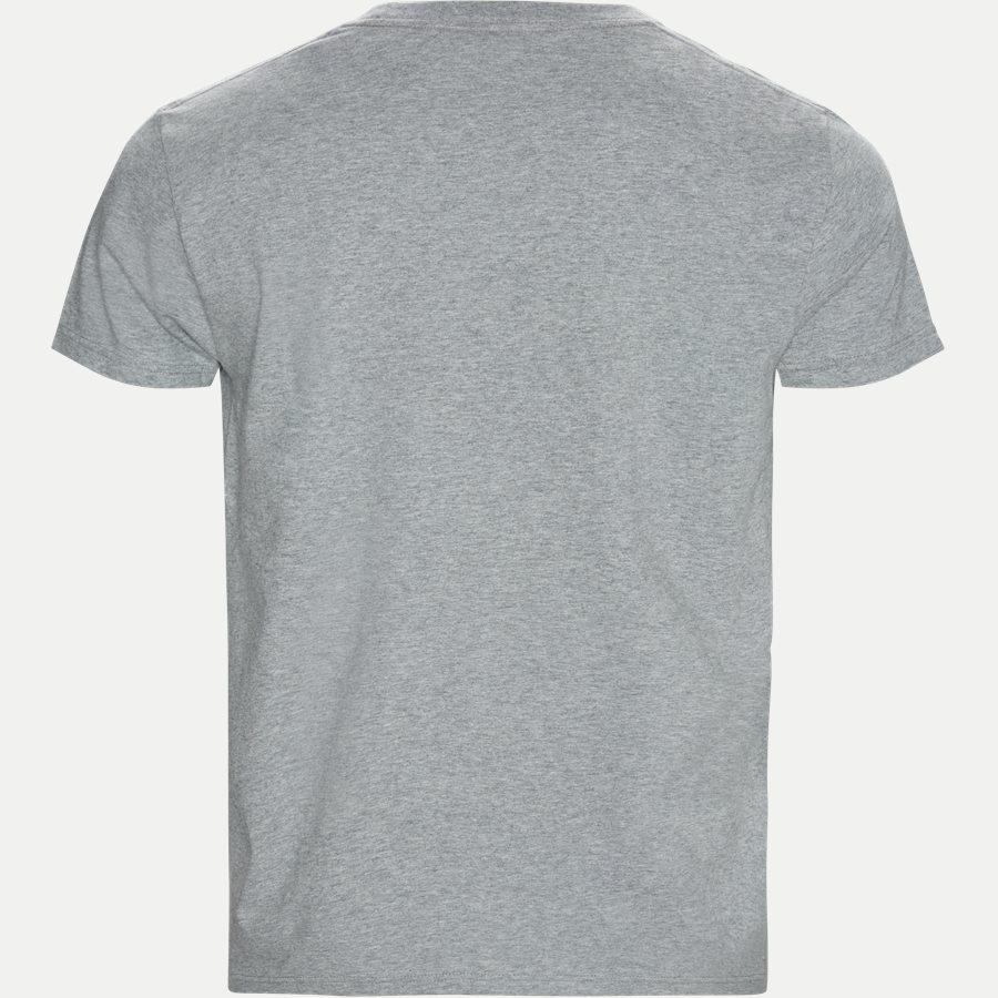 2003034 O1 GRAPHIC SS - Graphic SS T-shirt - T-shirts - Regular - GRÅ - 2
