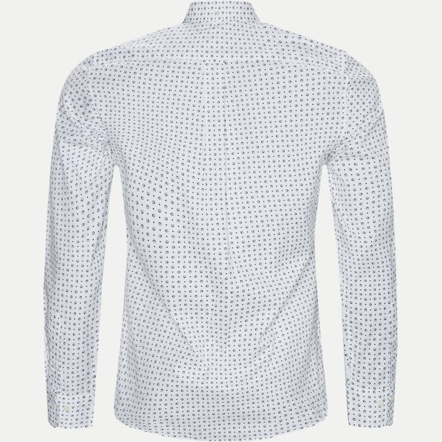 3002672 O2 MICRO SPORT PRINT SLIM - Micro Sport Print Slim Skjorte - Skjorter - Slim - HVID - 2