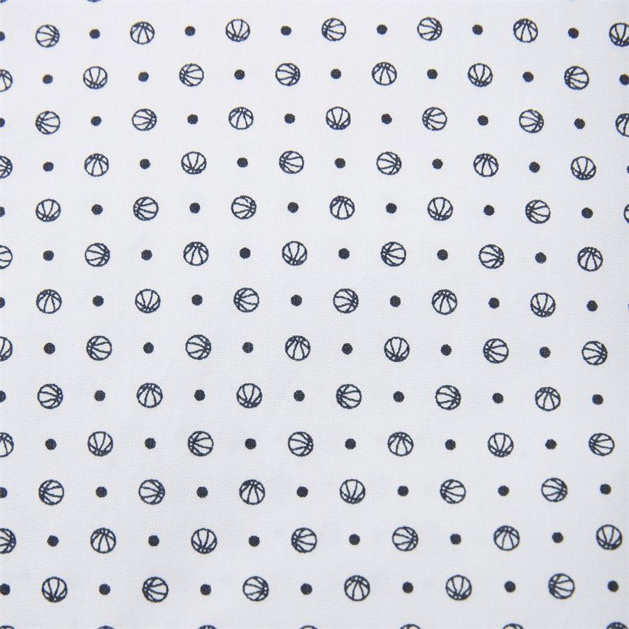 3002672 O2 MICRO SPORT PRINT SLIM - Micro Sport Print Slim Skjorte - Skjorter - Slim - HVID - 3