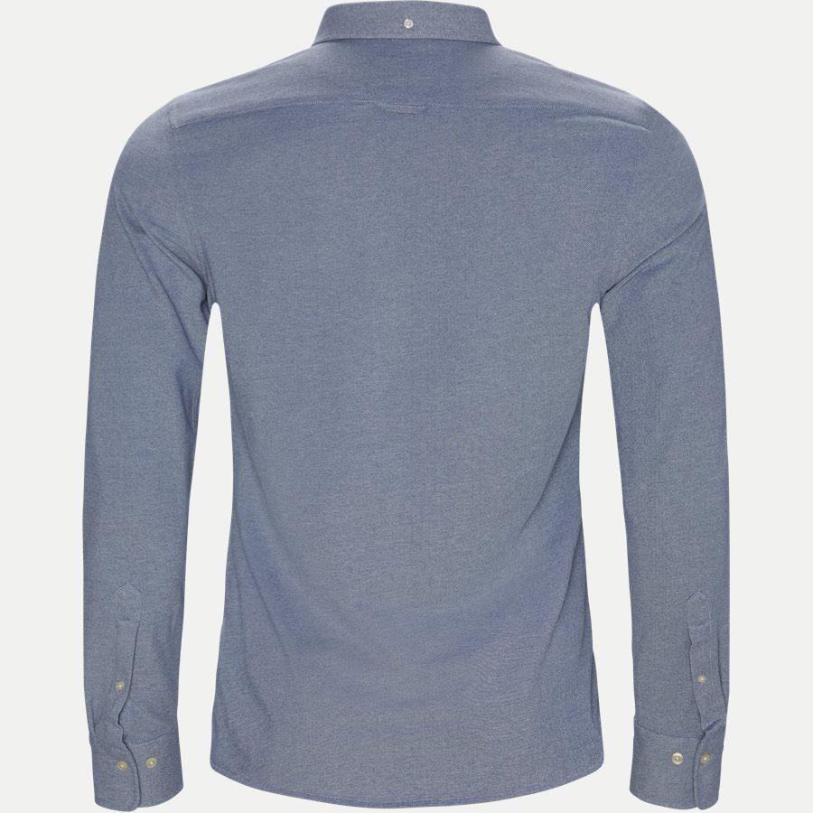 3002562 D1 PIQUE SOLID SLIM - TP Pique Solid Slim BD Skjorte - Skjorter - Slim - BLÅ - 2