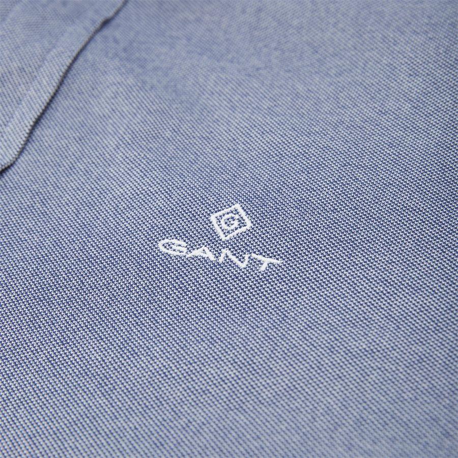 3002562 D1 PIQUE SOLID SLIM - TP Pique Solid Slim BD Skjorte - Skjorter - Slim - BLÅ - 3