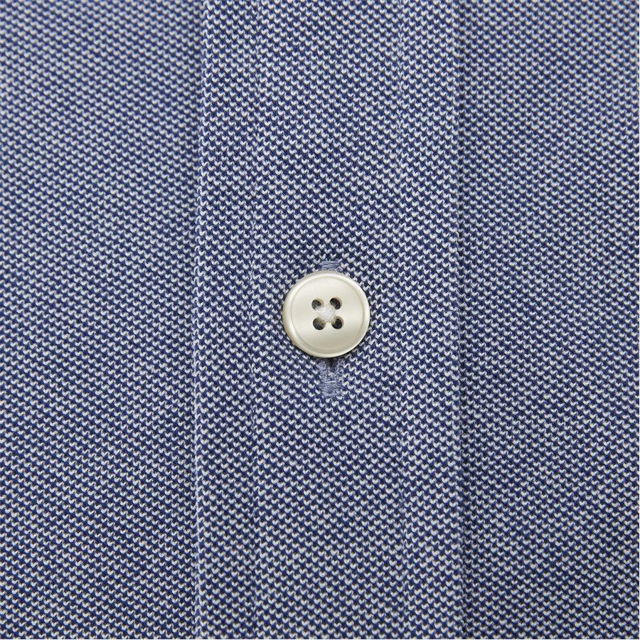 3002562 D1 PIQUE SOLID SLIM - TP Pique Solid Slim BD Skjorte - Skjorter - Slim - BLÅ - 4