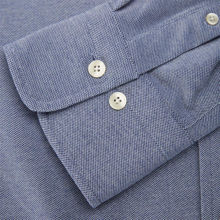 3002562 D1 PIQUE SOLID SLIM - TP Pique Solid Slim BD Skjorte - Skjorter - Slim - BLÅ - 6