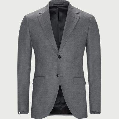 Slim | Blazer | Grau