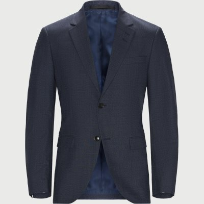 Slim fit | Blazer | Blå