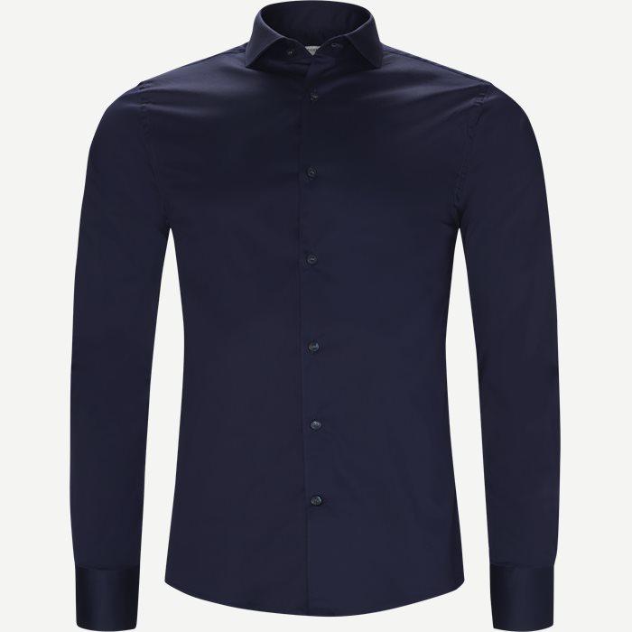 Farrell5 Skjorte - Skjorter - Slim - Blå