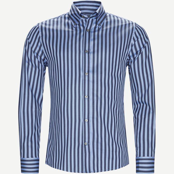 Fablo Skjorte - Skjorter - Slim - Blå