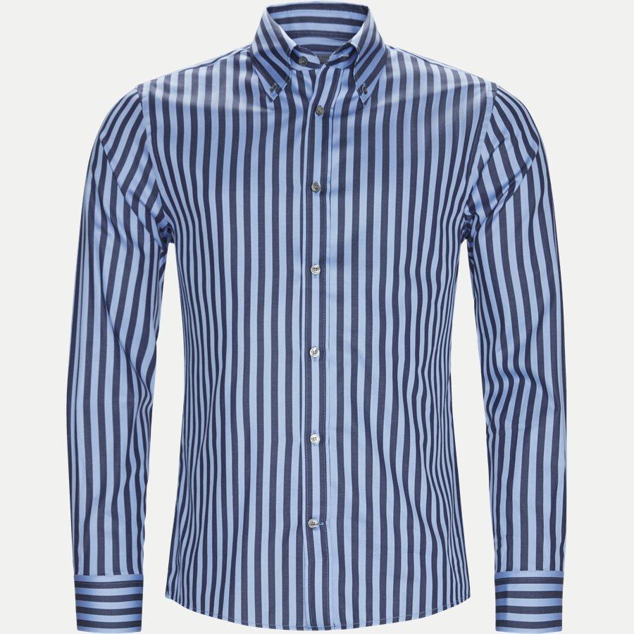 66660 FABLO - Fablo Skjorte - Skjorter - Slim - BLÅ - 1