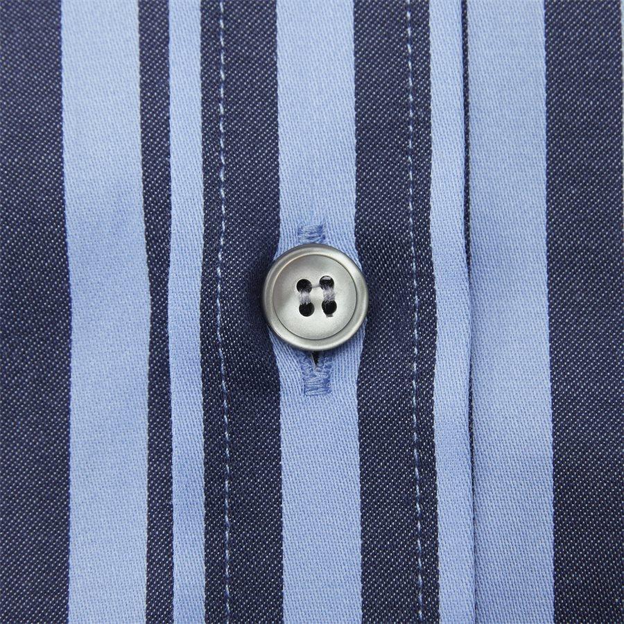 66660 FABLO - Fablo Skjorte - Skjorter - Slim - BLÅ - 3