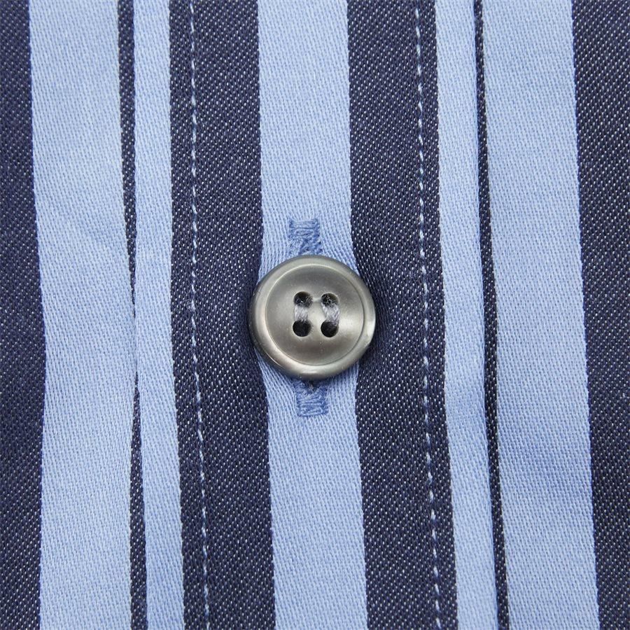 66660 FABLO - Fablo Skjorte - Skjorter - Slim - BLÅ - 6