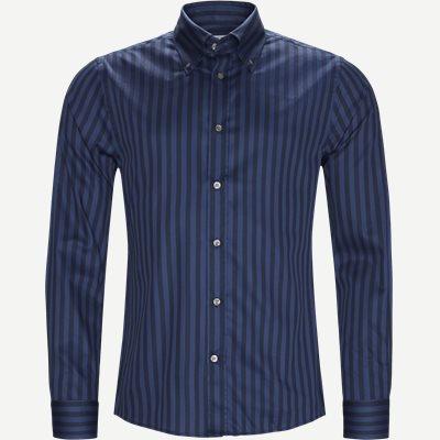Fablo Skjorte Slim | Fablo Skjorte | Blå