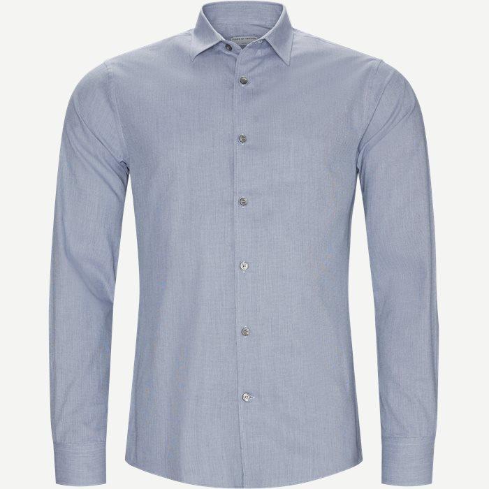 Farrel4 Skjorte - Skjorter - Slim - Blå