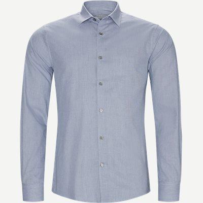 Farrel4 Skjorte Slim | Farrel4 Skjorte | Blå