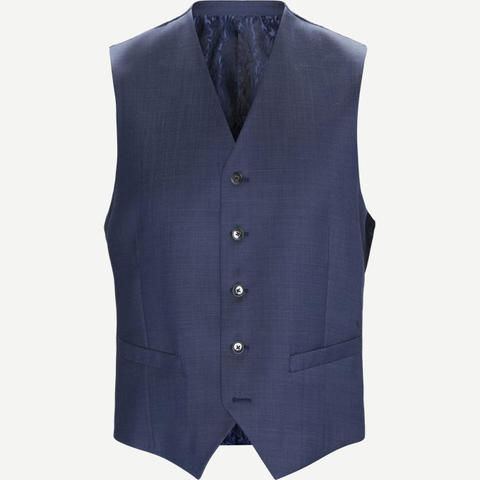 1568 Alford Vest - Veste - Regular - Blå