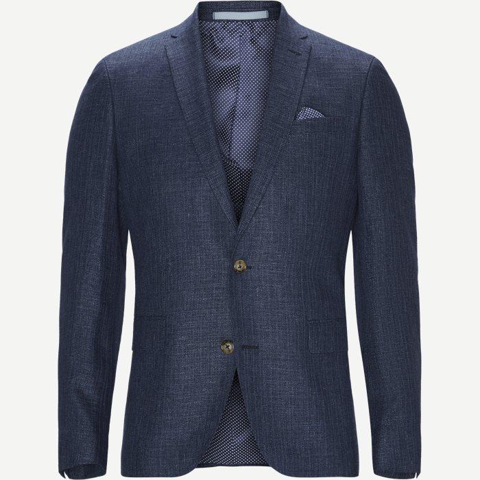 Hopsack Delave Star/Sherman Blazer - Blazer - Blå
