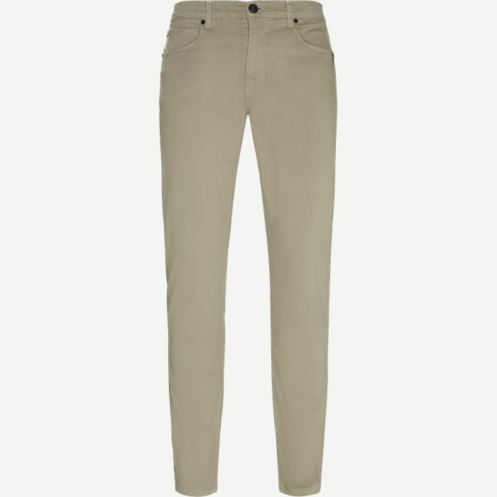 Suede Touch Burton N - Jeans - Regular - Sand