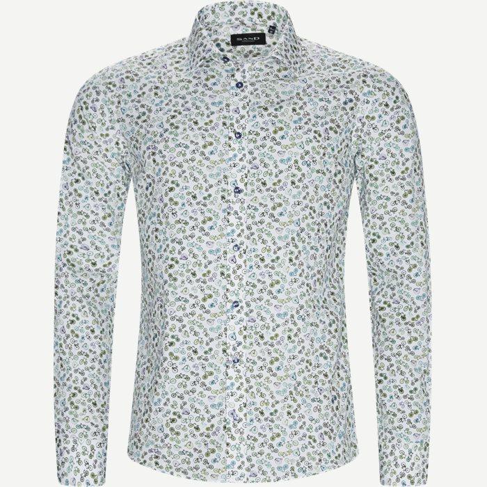 8904 Iver/State Skjorte - Skjorter - Grøn