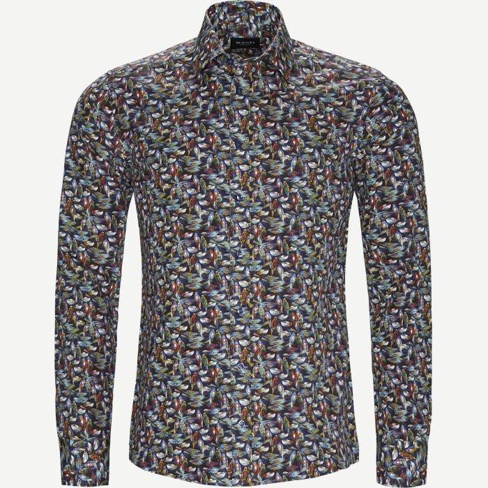8200 Iver/State Skjorte - Skjorter - Blå