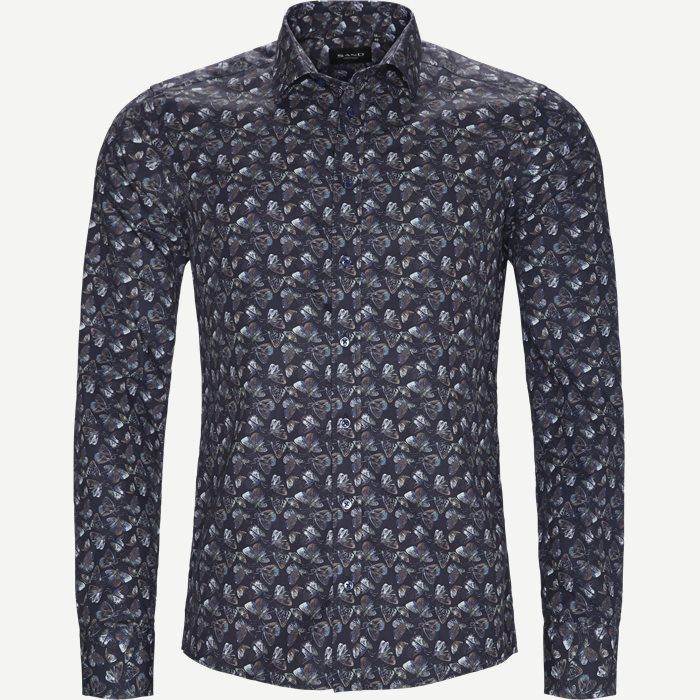 8128 Iver/State Skjorte - Skjorter - Blå