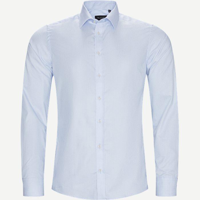 8110 Iver/State Skjorte - Skjorter - Blå
