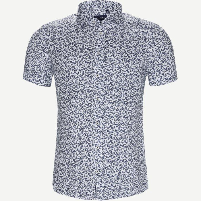 Shirt-sleeved shirts - White