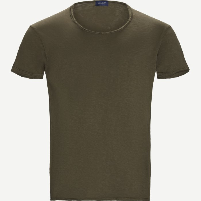 Brad O T-shirt - T-shirts - Casual fit - Army