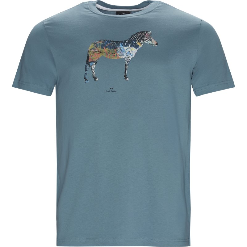 Billede af PS by Paul Smith Regular fit 011R AP1064 T-shirts Aqua