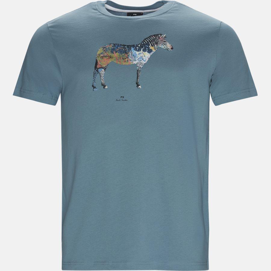 011R AP1064 - T-shirts - Regular fit - AQUA - 1