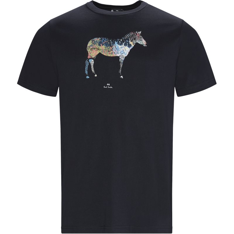Billede af PS by Paul Smith Regular fit 011R AP1064 T-shirts Navy