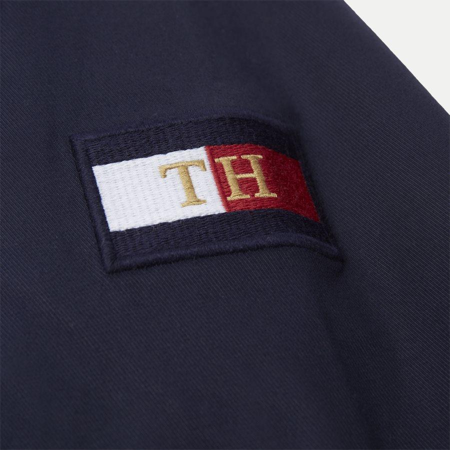 ICON COTTON HARRINGTON - Icon Harrington Vindjakke - Jakker - Regular - NAVY - 10