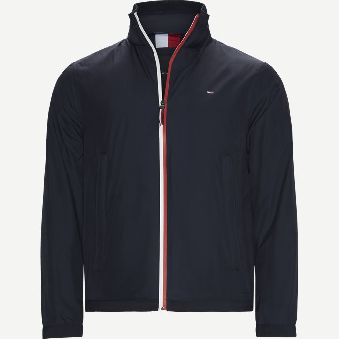 Red White Zip Jacket - Jakker - Regular - Blå