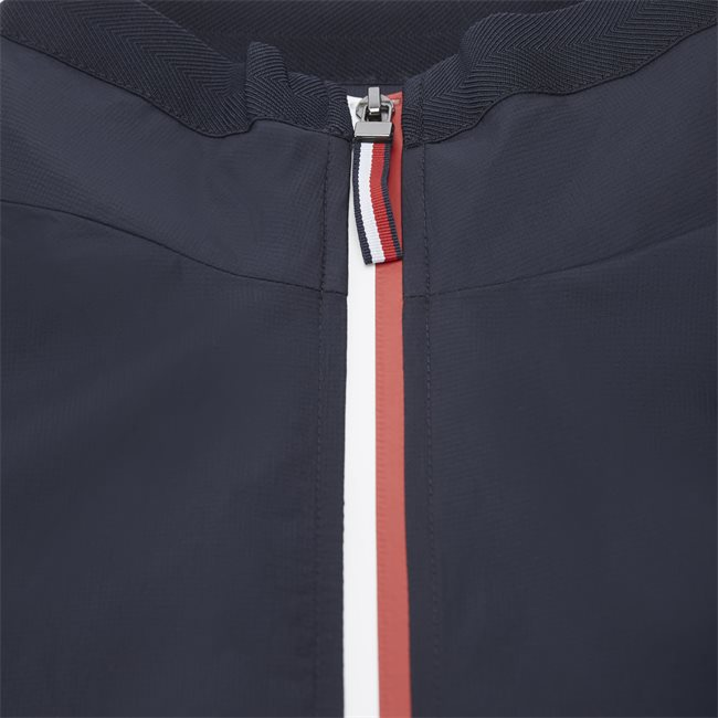Red White Zip Jacket