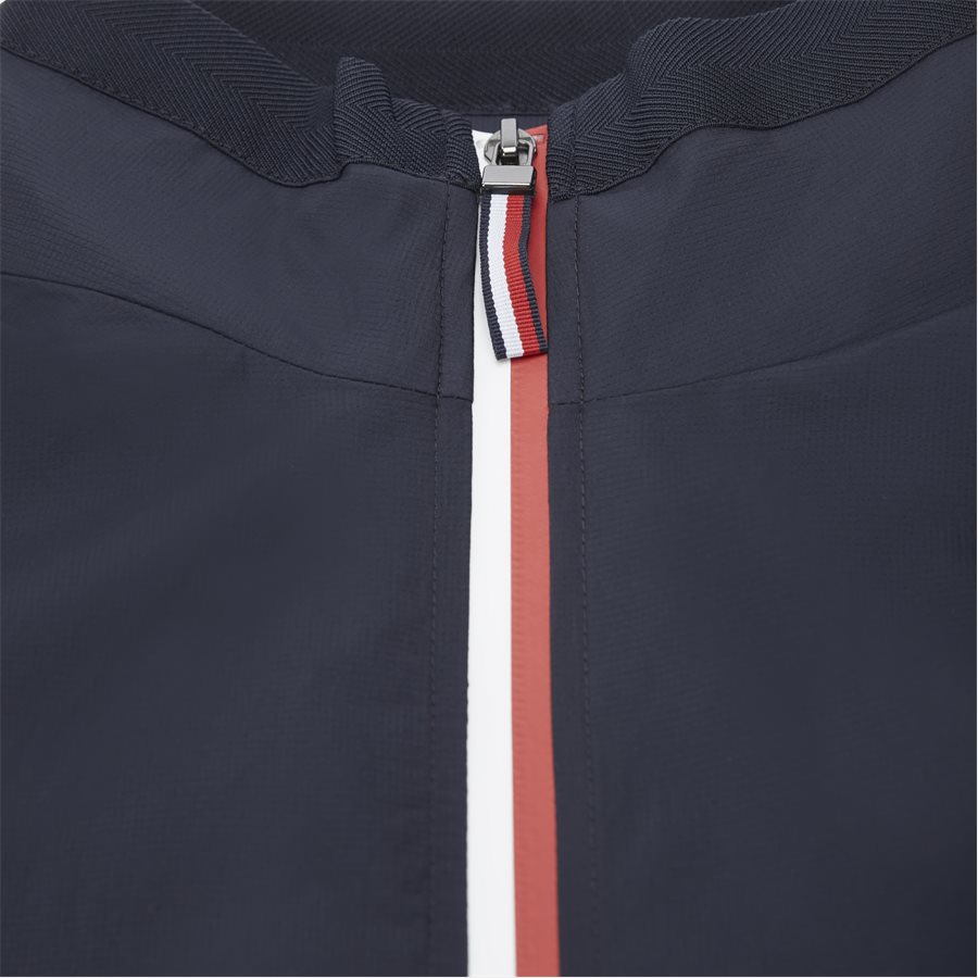 RED WHITE ZIP JACKET - Red White Zip Jacket - Jakker - Regular - NAVY - 3