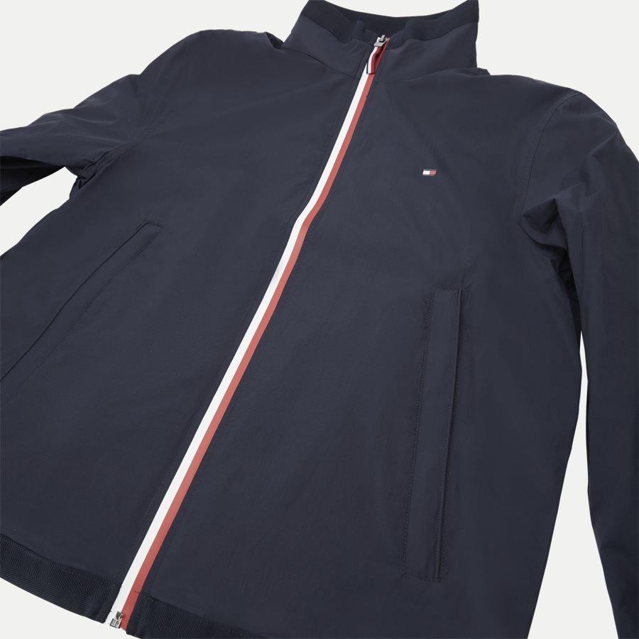RED WHITE ZIP JACKET - Red White Zip Jacket - Jakker - Regular - NAVY - 5