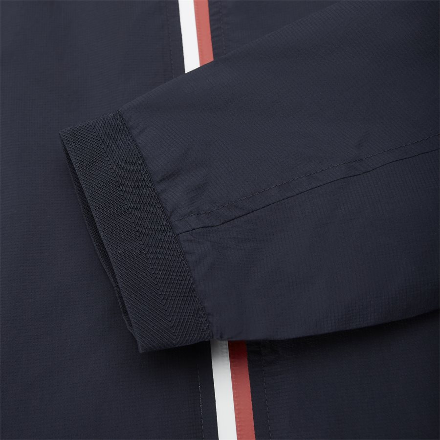 RED WHITE ZIP JACKET - Red White Zip Jacket - Jakker - Regular - NAVY - 6