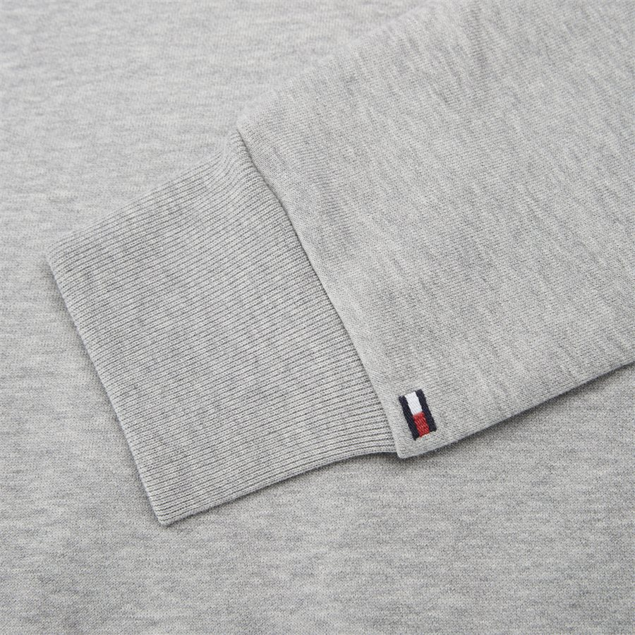 FLAG CHEST LOGO SWEATSHIRT - Flag Chest Logo Sweatshirt - Sweatshirts - Regular - GRÅ - 3