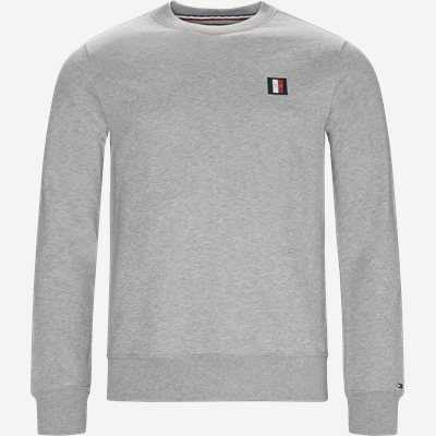 Icon Mini Badge Sweatshirt Regular | Icon Mini Badge Sweatshirt | Grå